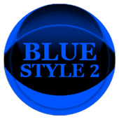 Blue Icon Pack Style 2 v2.0 icon