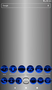 Blue Icon Pack Style 2 v2.0 apk screenshot