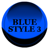 Blue Icon Pack Style 3 icon