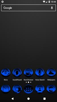 Blue Icon Pack Style 3 poster