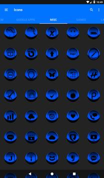 Blue Icon Pack Style 3 apk screenshot