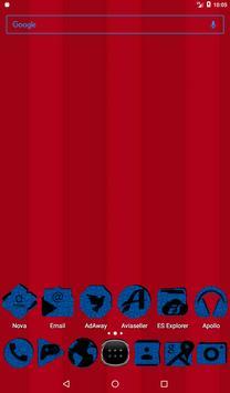 Blue Puzzle Icon Pack v2 apk screenshot