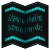 Cyan Fold Icon Pack v3 icon