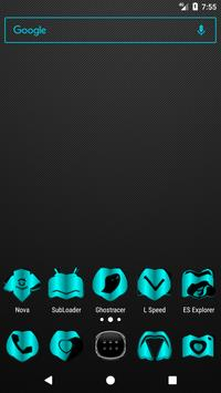 Cyan Fold Icon Pack v3 poster