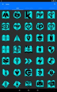 Cyan Fold Icon Pack v3 screenshot 15