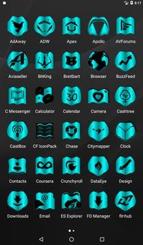 Cyan Fold Icon Pack v3 screenshot 17