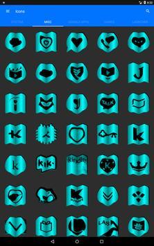 Cyan Fold Icon Pack v3 screenshot 11