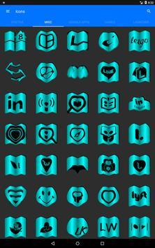 Cyan Fold Icon Pack v3 screenshot 12