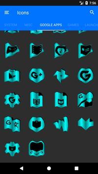Cyan Fold Icon Pack v3 screenshot 7