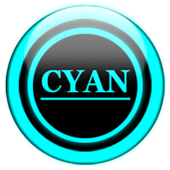 Cyan Glass Orb Icon Pack v4.1 Free icon