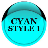 Cyan Icon Pack Style 1 v2.0 icon