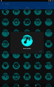 Cyan Icon Pack Style 1 v3.0 Free screenshot 11
