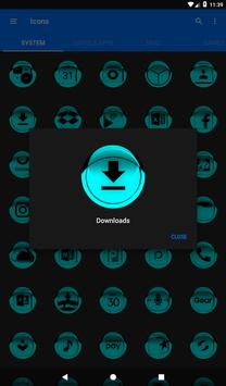 Cyan Icon Pack Style 1 v3.0 Free screenshot 19