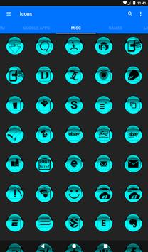Cyan Icon Pack Style 1 v3.0 Free screenshot 23