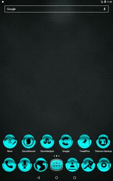 Cyan Icon Pack Style 1 v2.0 apk screenshot