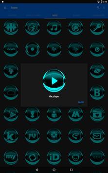 Cyan Icon Pack Style 2 screenshot 11