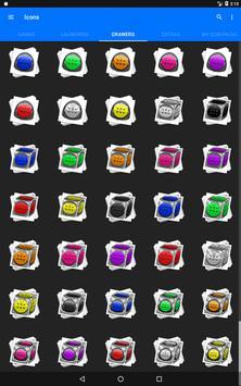 Cyan Icon Pack Style 2 screenshot 15