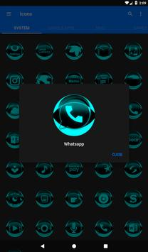 Cyan Icon Pack Style 2 screenshot 19