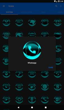 Cyan Icon Pack Style 2 v3.0 Free screenshot 19