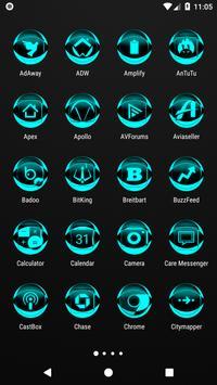 Cyan Icon Pack Style 2 screenshot 1