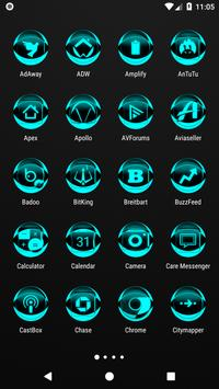 Cyan Icon Pack Style 2 v2.0 screenshot 1