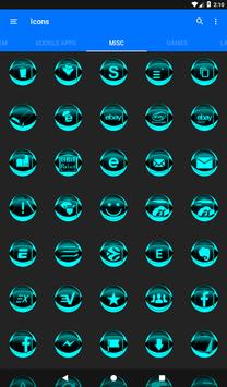 Cyan Icon Pack Style 2 screenshot 23