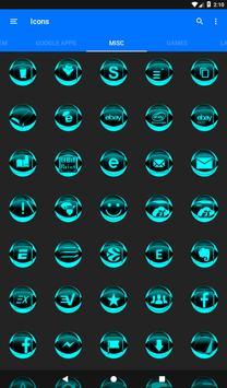 Cyan Icon Pack Style 2 v3.0 Free screenshot 23