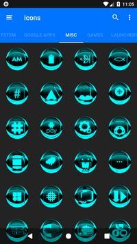 Cyan Icon Pack Style 2 screenshot 6