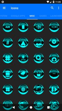 Cyan Icon Pack Style 2 v2.0 screenshot 6