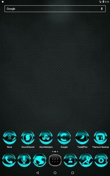 Cyan Icon Pack Style 2 screenshot 8