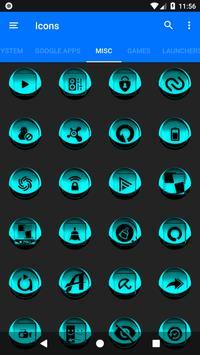 Cyan Icon Pack Style 3 screenshot 6