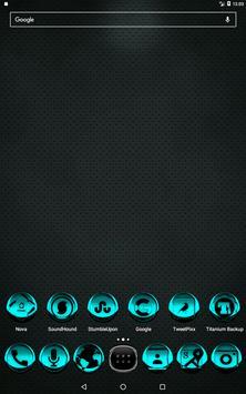 Cyan Icon Pack Style 3 screenshot 8