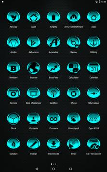 Cyan Icon Pack Style 3 v3.0 Free screenshot 9