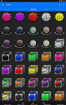 Cyan Icon Pack Style 3 screenshot 14