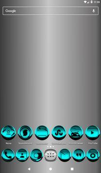 Cyan Icon Pack Style 3 screenshot 16