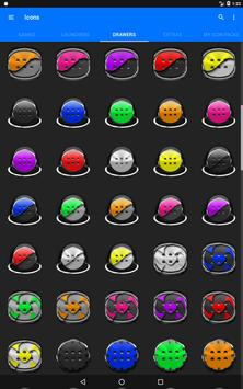 Grey Icon Pack Style 1 v2.0 apk screenshot