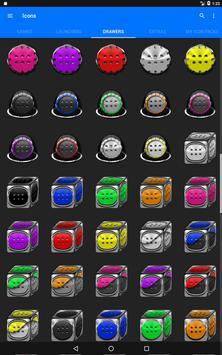 Grey Icon Pack Style 1 v3.0 Free screenshot 14