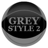 Grey Icon Pack Style 2 v3.0 Free icon