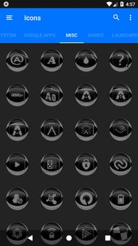 Grey Icon Pack Style 2 v3.0 Free screenshot 6