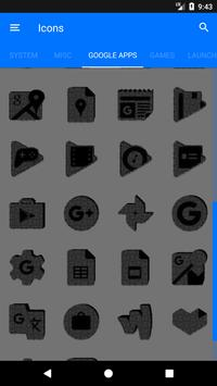 Greyscale Puzzle Icon Pack screenshot 7