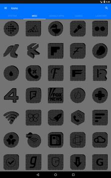 Greyscale Puzzle Icon Pack screenshot 11