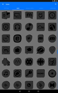 Greyscale Puzzle Icon Pack screenshot 15