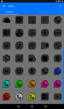 Greyscale Puzzle Icon Pack screenshot 19