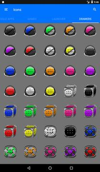 Greyscale Puzzle Icon Pack apk screenshot