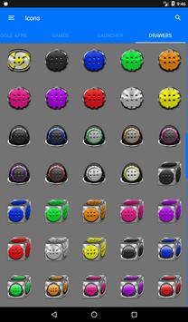 Greyscale Puzzle Icon Pack screenshot 22