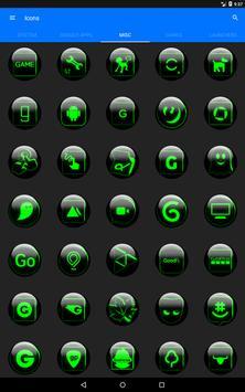 Green Glass Orb Icon Pack v2.2 screenshot 14