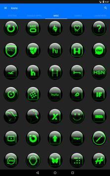 Green Glass Orb Icon Pack v2.2 screenshot 15