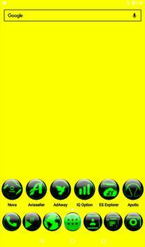 Green Glass Orb Icon Pack v2.2 screenshot 16