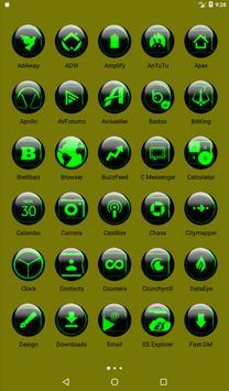 Green Glass Orb Icon Pack v2.2 screenshot 17
