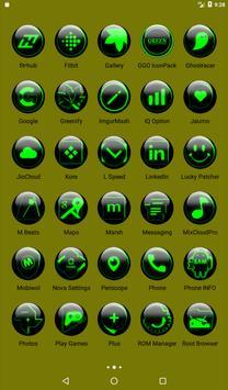 Green Glass Orb Icon Pack v3.0 screenshot 18